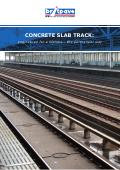 Concrete slab track: engineered for a lifetime - the permanent way (Free PDF)
