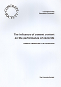 The influence of cement content on the performance of concrete