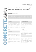 Assessment of in-situ concrete strength using data obtained from core testing