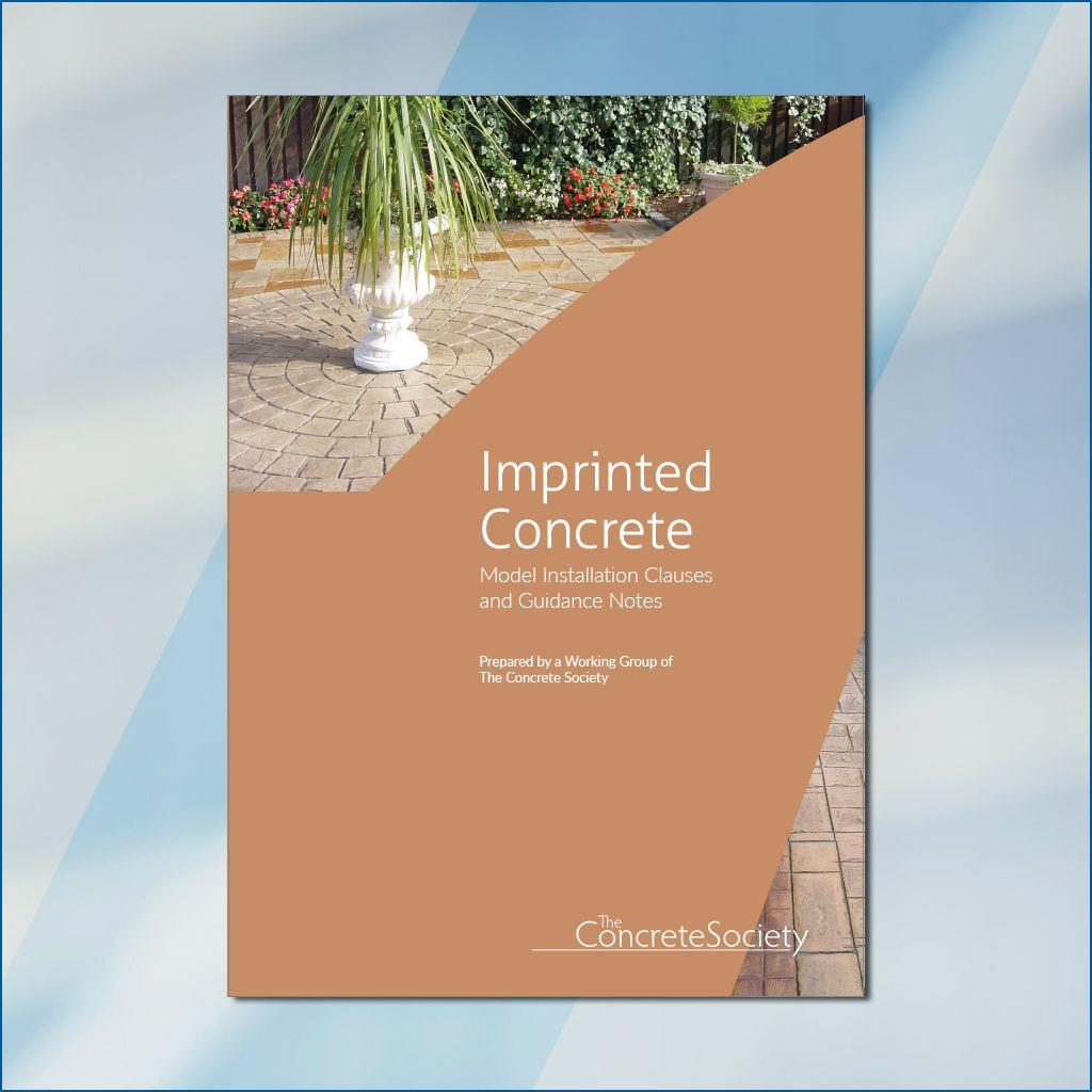 Imprinted concrete – model installation clauses and guidance notes
