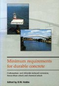 Minimum requirements for durable concrete