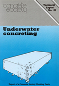 TR35 Underwater concreting
