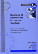 TR54 Diagnosis of deterioration in concrete structures<BR>- identification of defects, evaluation an